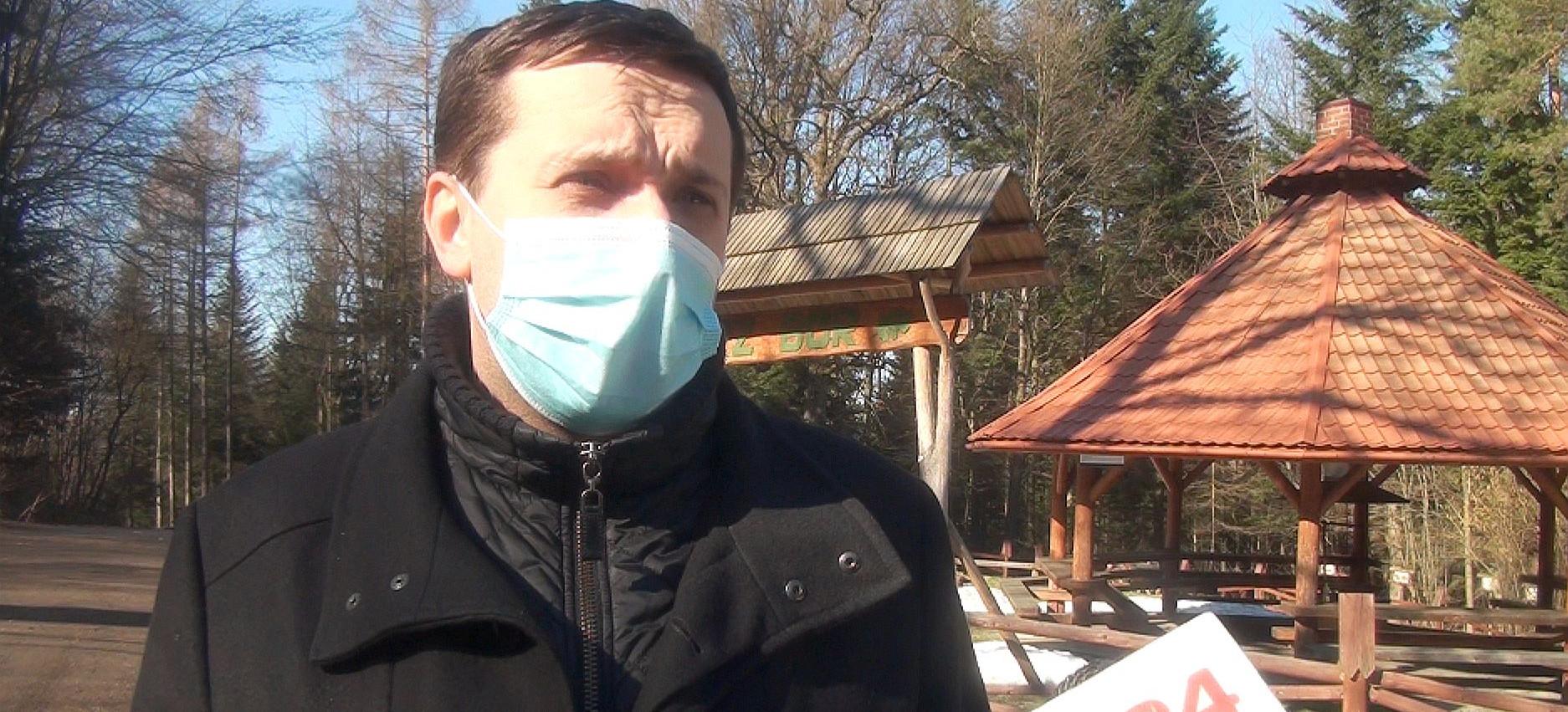 Atak wilków na pilarzy: Apel burmistrza Brzozowa (VIDEO)