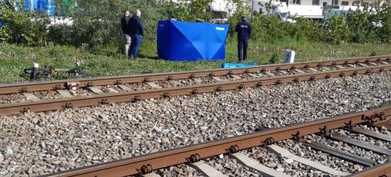 RZESZÓW: Tragedia na przejeździe kolejowym. Zginął 40-letni mężczyzna (ZDJĘCIA)