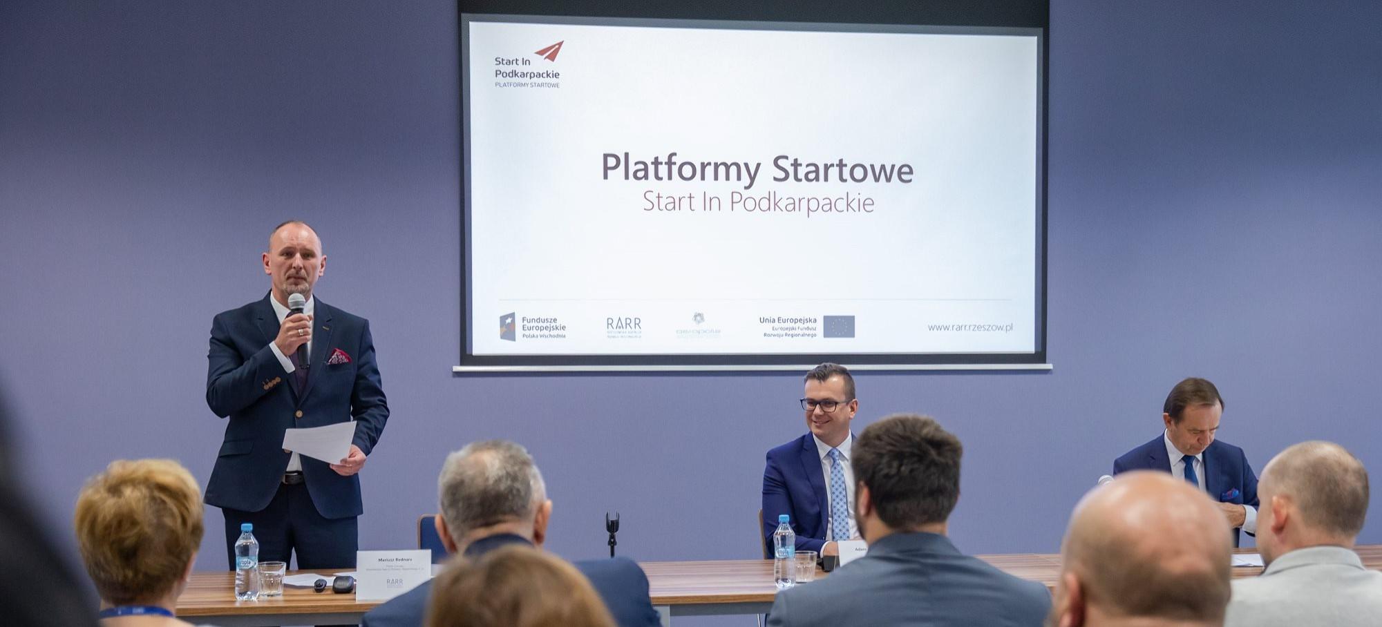 Inauguracja projektu: Platformy Startowe Start In Podkarpackie