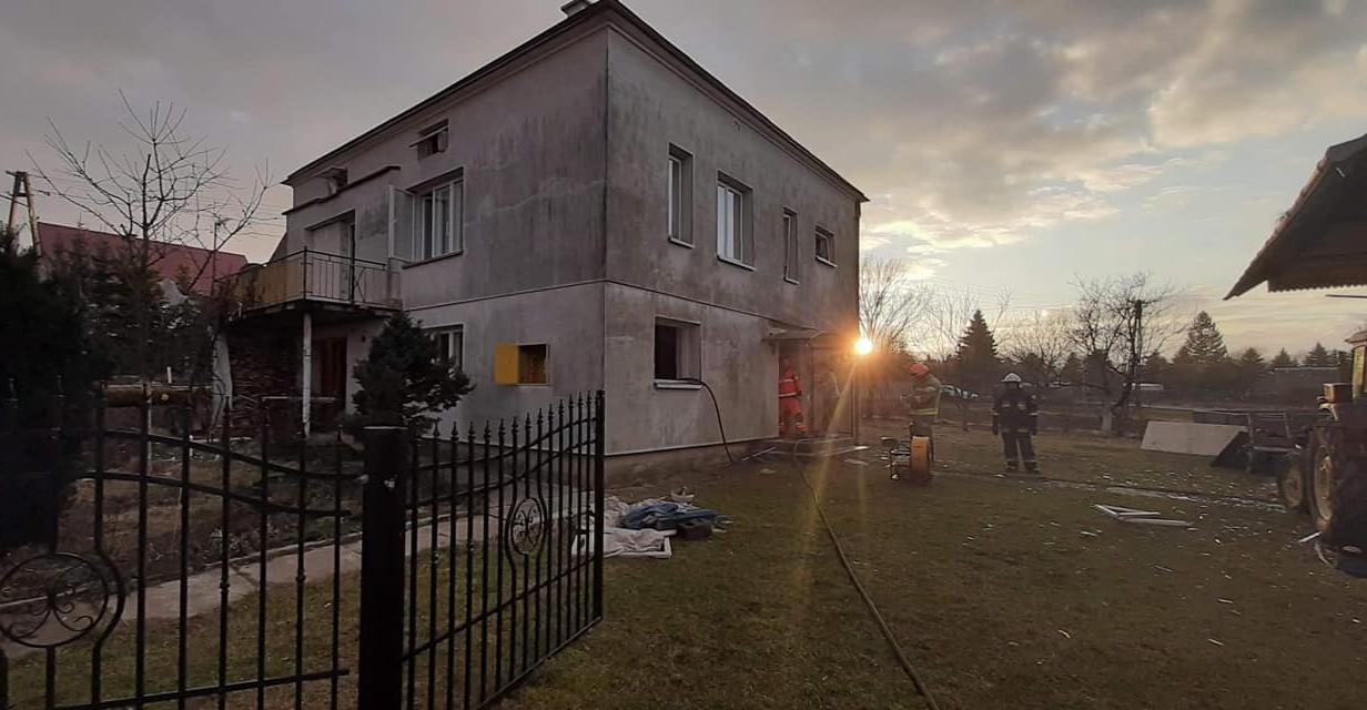 Wybuch pieca. Jedna osoba zginęła (FOTO)