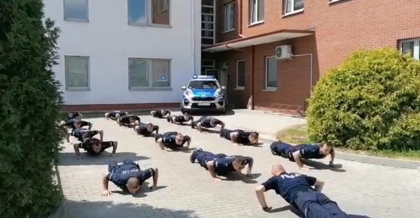 Kolejni rzeszowscy policjanci przystąpili do #GaszynChallenge (WIDEO)