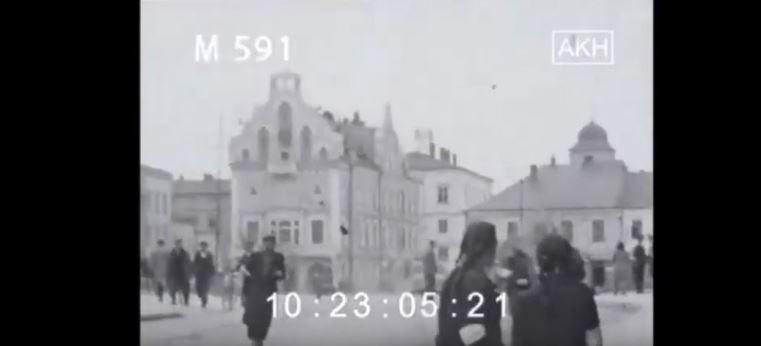 Rzeszów z czasów okupacji niemieckiej. Wyjątkowe wideo!
