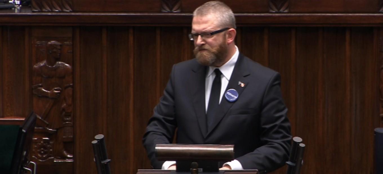 Grzegorz Braun: Debata nad wotum zaufania dla Rządu (VIDEO)