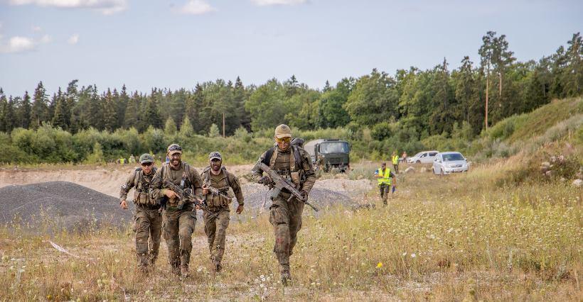 Podkarpaccy terytorialsi wrócili z zawodów taktycznych w Estonii (ZDJĘCIA)