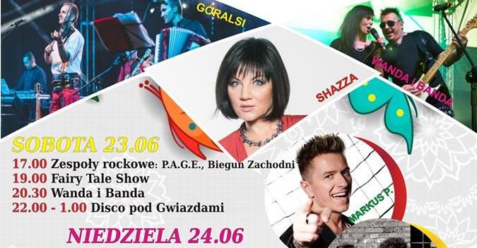 DNI BRZOZOWA: Shazza, Kwarta Czystey, Wanda i Banda i wiele atrakcji!
