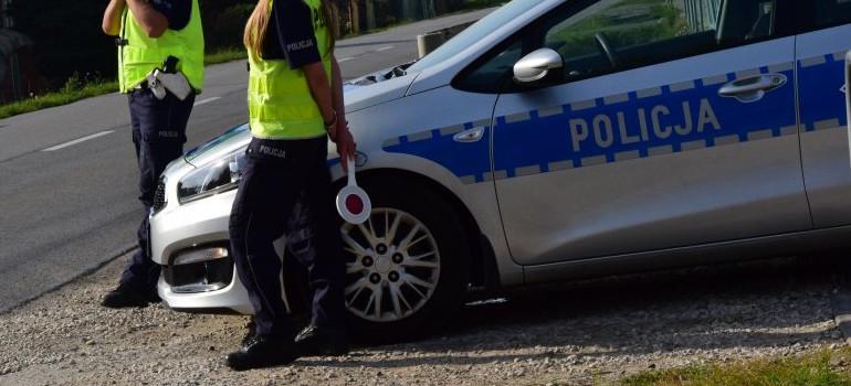 Pijany 31-latek uciekał skradzionym motocyklem