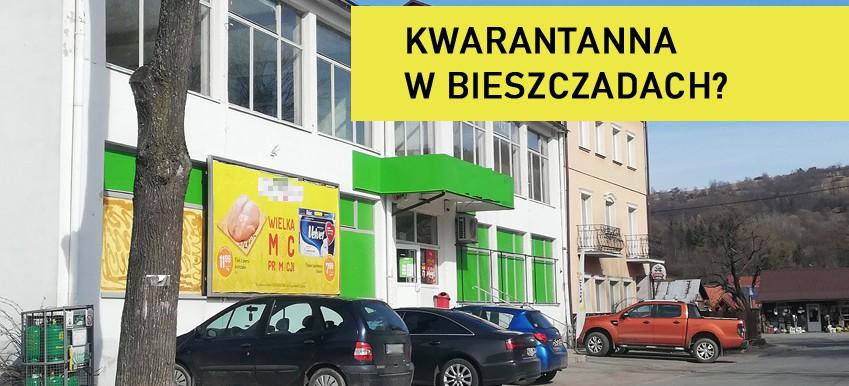 """Urządzają sobie kwarantannę w Bieszczadach? """"Tłumy jak w lecie"""" (FOTO)"""