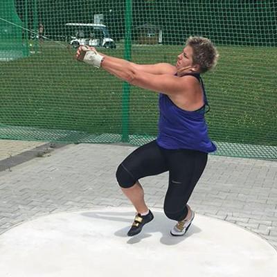 Anita Włodarczyk trenuje w Arłamowie (FOTO)