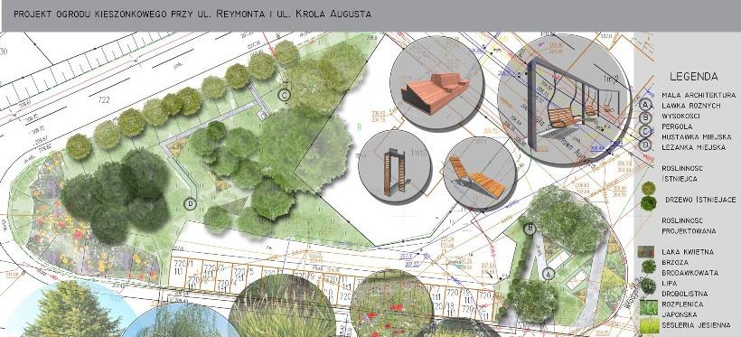 RZESZÓW. Na osiedlu Króla Augusta powstanie ogród kieszonkowy