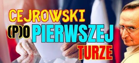 Wojciech Cejrowski: (P)O pierwszej turze