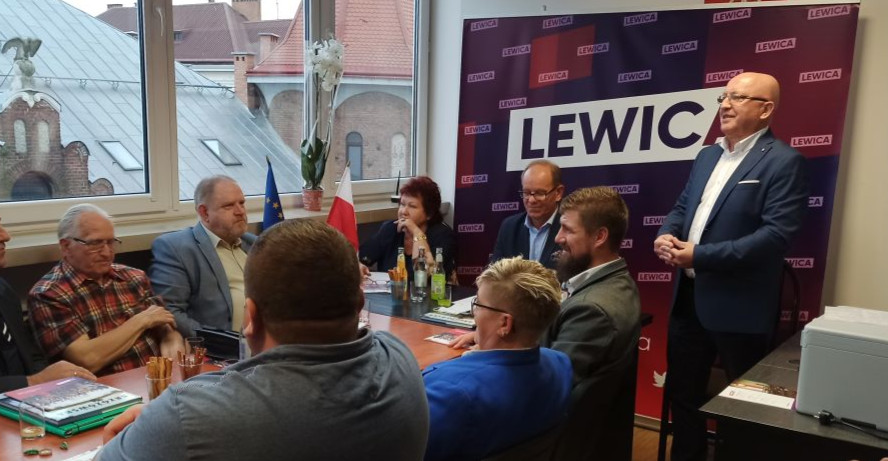 Otwarcie biura powiatowego Lewicy w Brzozowie