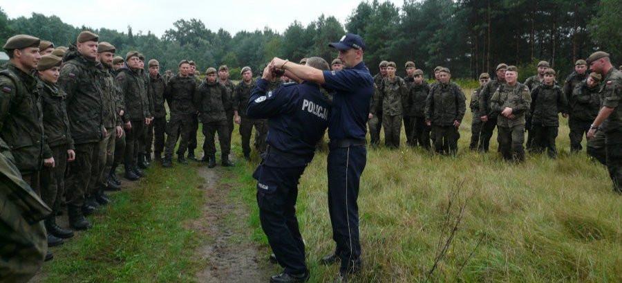 Szkolenie WOT pod nadzorem policji