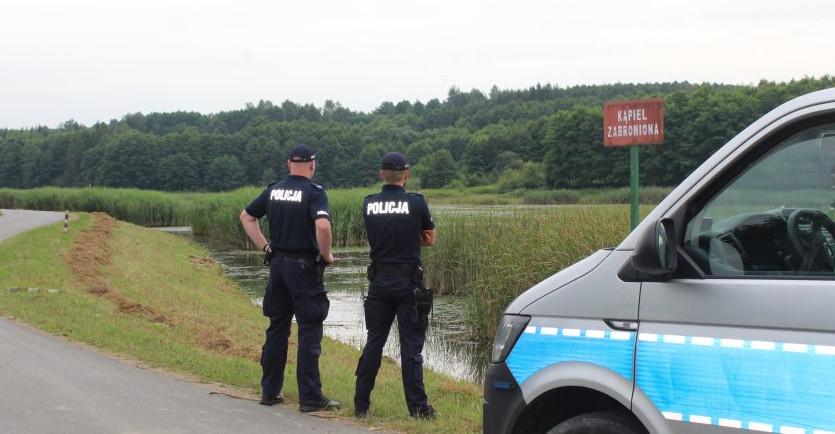 Policja apeluje o rozwagę nad wodą