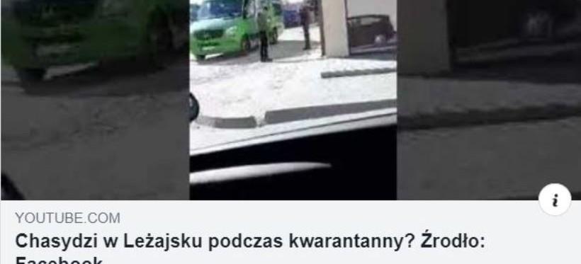 Chasydzi w Leżajsku, mimo zakazu burmistrza? (WIDEO)