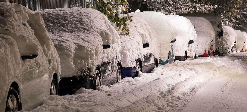 PODKARPACIE. Intensywny śnieg! IMGW ostrzega!