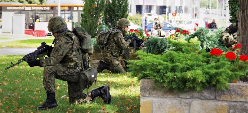 Podkarpaccy Terytorialsi ćwiczyli w centrum Rzeszowa! (FOTO)