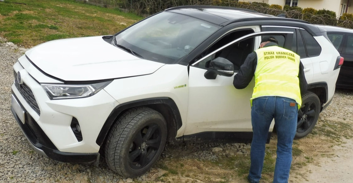 Luksusowe samochody zatrzymane przez pograniczników