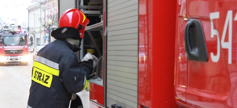 Podkarpaccy strażacy wyjeżdżali do ponad 35 tys. zdarzeń w 2020 roku