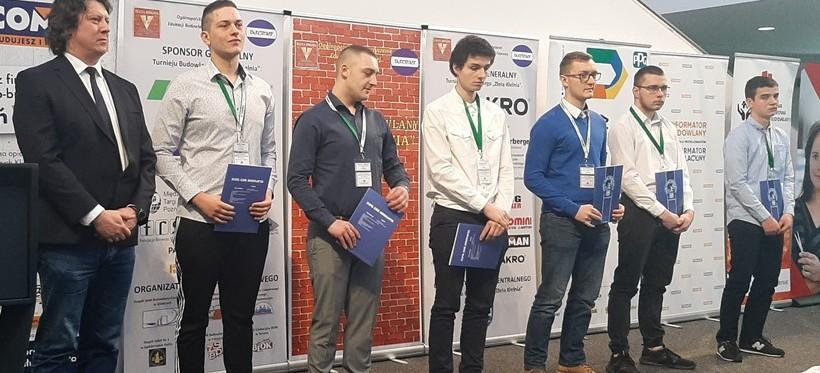 Sukces uczniów rzeszowskiego ZDZ-u w ogólnopolskim turnieju budowlanym!
