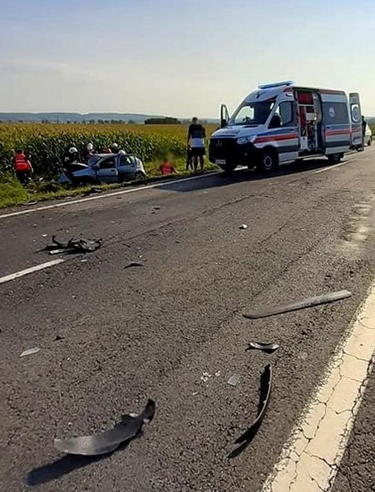 Poważny wypadek między Beskiem a Zarszynem. Droga zablokowana!