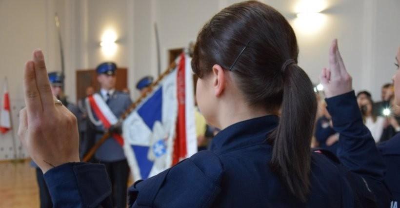 RZESZÓW: 17 policjantów złożyło ślubowanie (FOTO)
