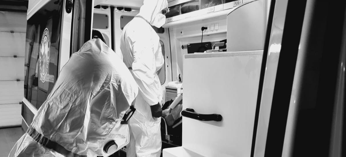Atak na ratownika medycznego w karetce. Pijany 34-latek (FOTO)