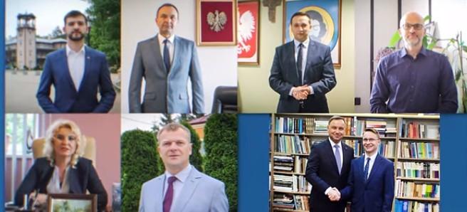 Samorządowcy i politycy z regionu wspierają Andrzeja Dudę! (VIDEO)