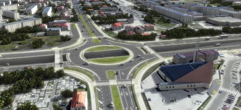 Wiemy, jak będzie wyglądał tunel pod rondem Pobitno! (WIZUALIZACJA)