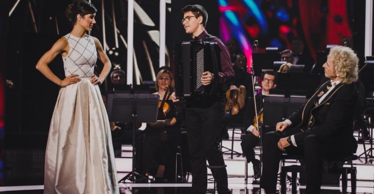 Młody akordeonista z Krzywego gwiazdą Międzynarodowego Talent Show! (VIDEO)