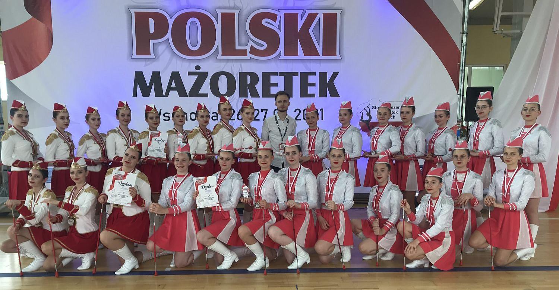 """Worek medali mażoretek """"Sunshine"""" Besko. Udane mistrzostwa Polski (VIDEO, ZDJĘCIA)"""