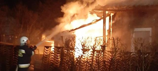 Zobacz jak z pożarem walczyli strażacy! (VIDEO, ZDJĘCIA)