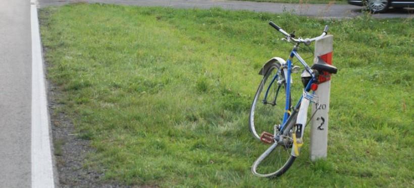 PODKARPACIE. Tragiczny wypadek, nie żyje 86-letni rowerzysta! (FOTO)