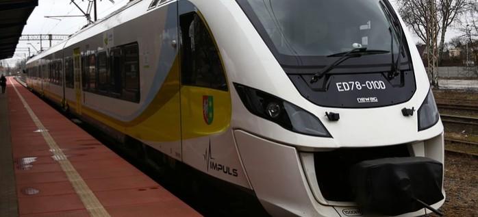 Z Rzeszowa do Jasionki dojedziemy pociągiem!