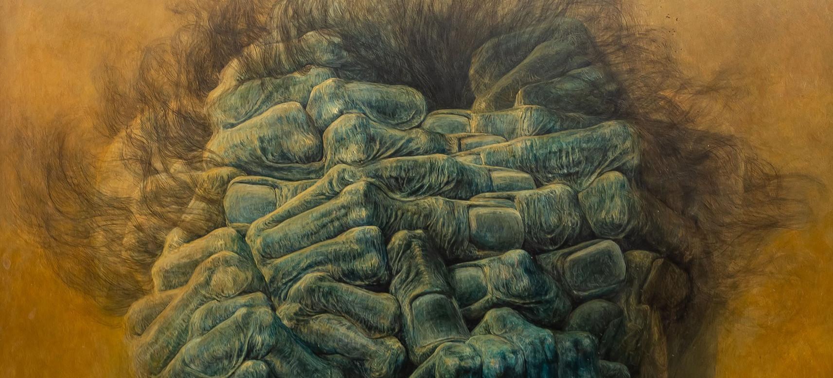 Gigantyczne pieniądze za obraz Beksińskiego! Nieprawdopodobny rekord