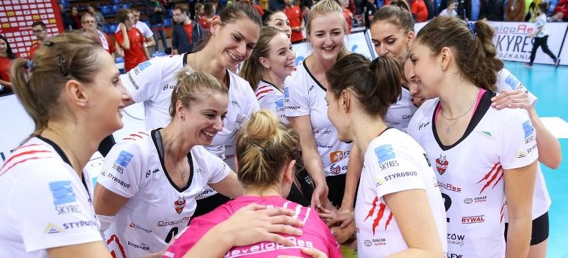 """Developres szybko rozprawił się z ekipą #VolleyWrocław. """"Rysice"""" nadal bez porażki!"""