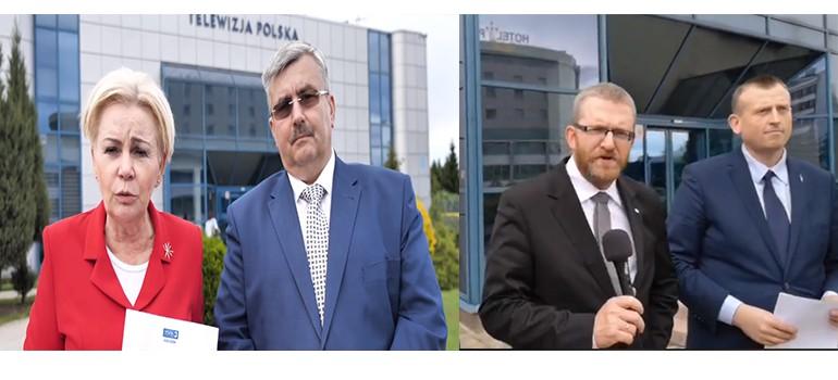 """TVP Rzeszów odwołała debaty kandydatów do PE: """"To skandal!"""" (WIDEO)"""