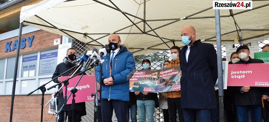 Konrad Fijołek z poparciem prezydenta Wrocławia. Rozmawiali o budowie aquaparku (VIDEO, ZDJĘCIA)