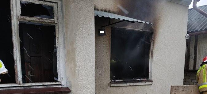 PRZYSIETNICA. Podpalił dom, w którym mieszkał? 47-latek aresztowany (ZDJĘCIA)