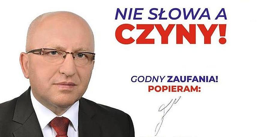 Nie słowa a czyny! Stanisław Szałajko walczy o fotel burmistrza Brzozowa