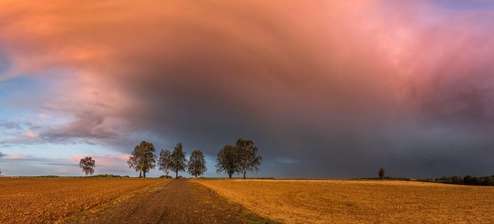 Niż Mortimer i przepiękne niebo nad Sędziszowem Małopolskim! (FOTO)