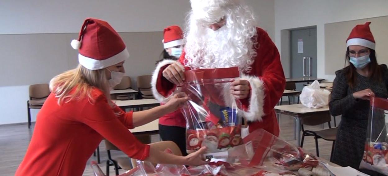 Mikołajki w Brzozowie i kiermasz bożonarodzeniowy on-line (VIDEO)