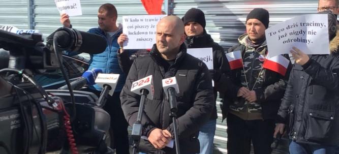 Protest taksówkarzy w Rzeszowie! (VIDEO, FOTO)