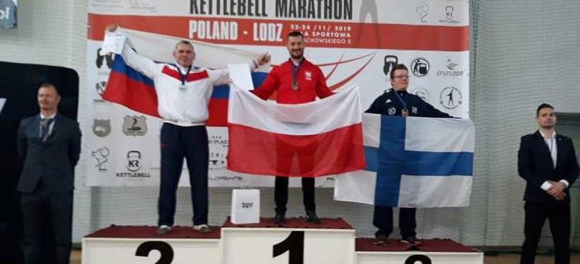 Rzeszowianin mistrzem świata w kettlebell! (FOTO)