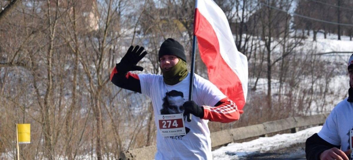 """NASZ PATRONAT: Bieg Pamięci Żołnierzy Wyklętych. """"Tropem Wilczym"""" w Pielni"""