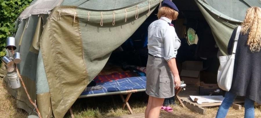BIESZCZADY: Kontrole miejsc wypoczynku i obozów harcerskich (FOTO)