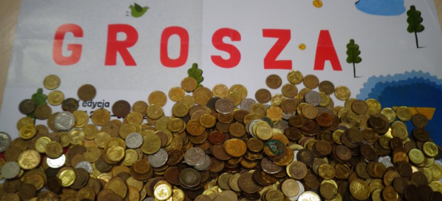 """Maluchy zebrały wielką """"Górę Grosza"""" (FOTO)"""