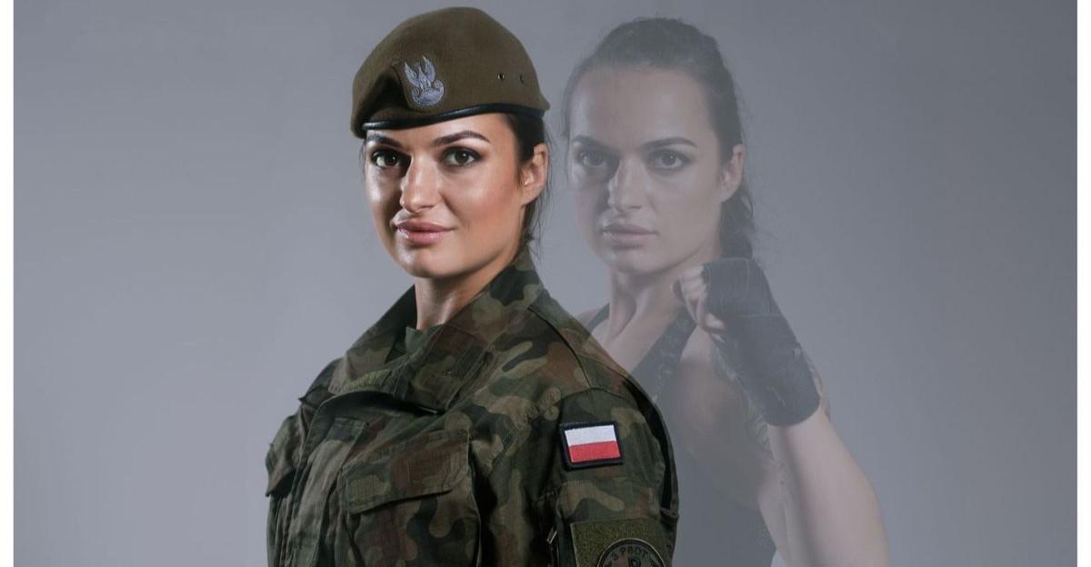 Brutalny sport! W klatce powalczy Justyna – żołnierz WOT!