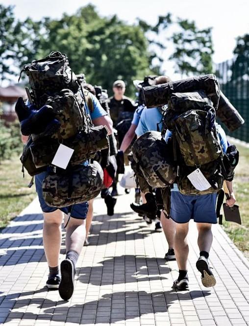 Przyszli terytorialsi szkolą się na Podkarpaciu. Zasilą bataliony w Sanoku, Rzeszowie, Jarosławiu i Nisku (FOTO)