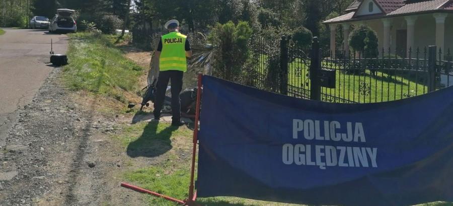 Śmiertelny wypadek w Grzegorzówce