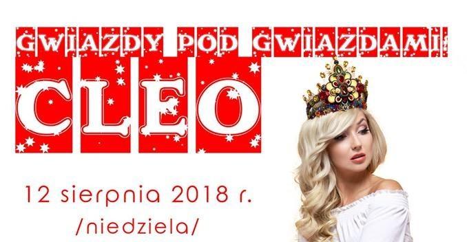 Gwiazdy Pod Gwiazdami w Polańczyku z Cleo